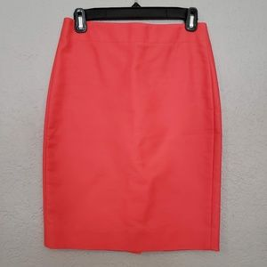 J. Crew Skirt - No. 2 Pencil peach orange - 00